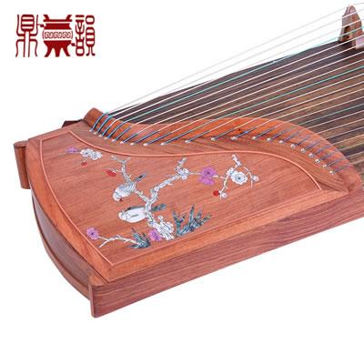 鼎韵古筝903-XD喜鹊登梅花梨木正品入门考级演奏古筝乐器