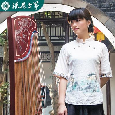 琼花古筝-水泽木兰演奏考级儿童成人古筝初学者轻奢古筝琴