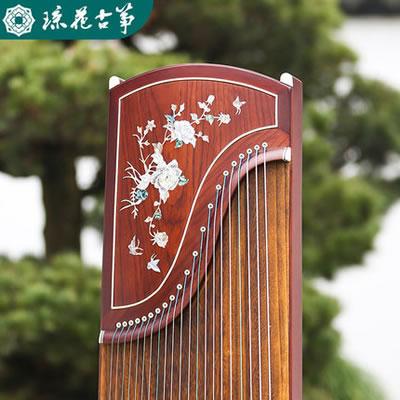 琼花古筝-锦上添花扬州红木挖嵌教学考级演奏成人儿童古筝