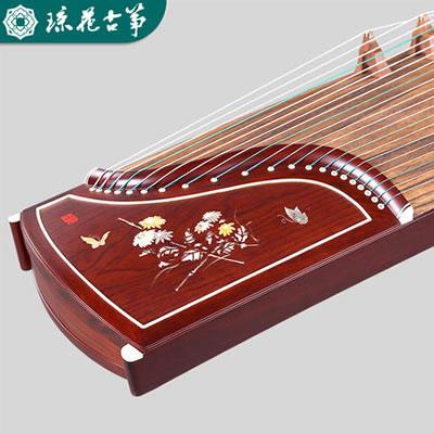 琼花古筝-蝶言花语扬州实木专业考级演奏古筝琴
