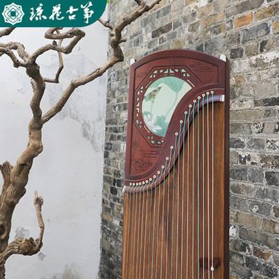琼花古筝-荷塘翠羽 专业考级演奏表演实木古筝琴